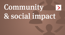 Community and social impact