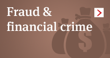 Fraud and financial crime