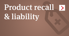 Product recall and liability