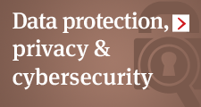 Data protection, privacy & cybersecurity